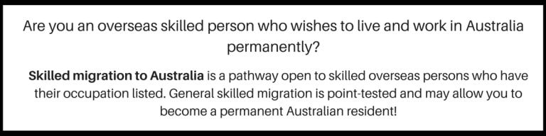 Skilled Migration Visa Subclass 189 &190 - BMS Global Visa Australia